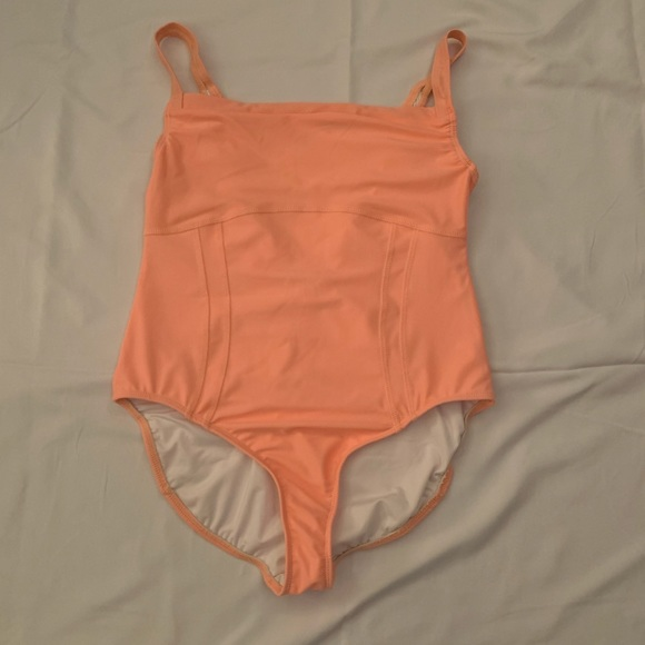 Yumiko Other - Peach collections by Claudia ballet leotard